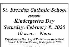 Postponed - Kindergarten Day - Postponed