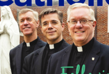Fr. Dave, Fr. Tom. and Fr. Mike