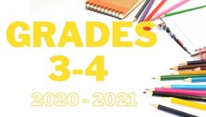 school supplies scattered reading grades 3 and 4 supply list 20-21