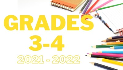 school supplies scattered reading grades 3 and 4 supply list
