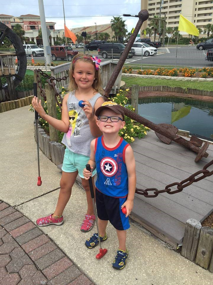 Students find and anchor while on summer vacation.