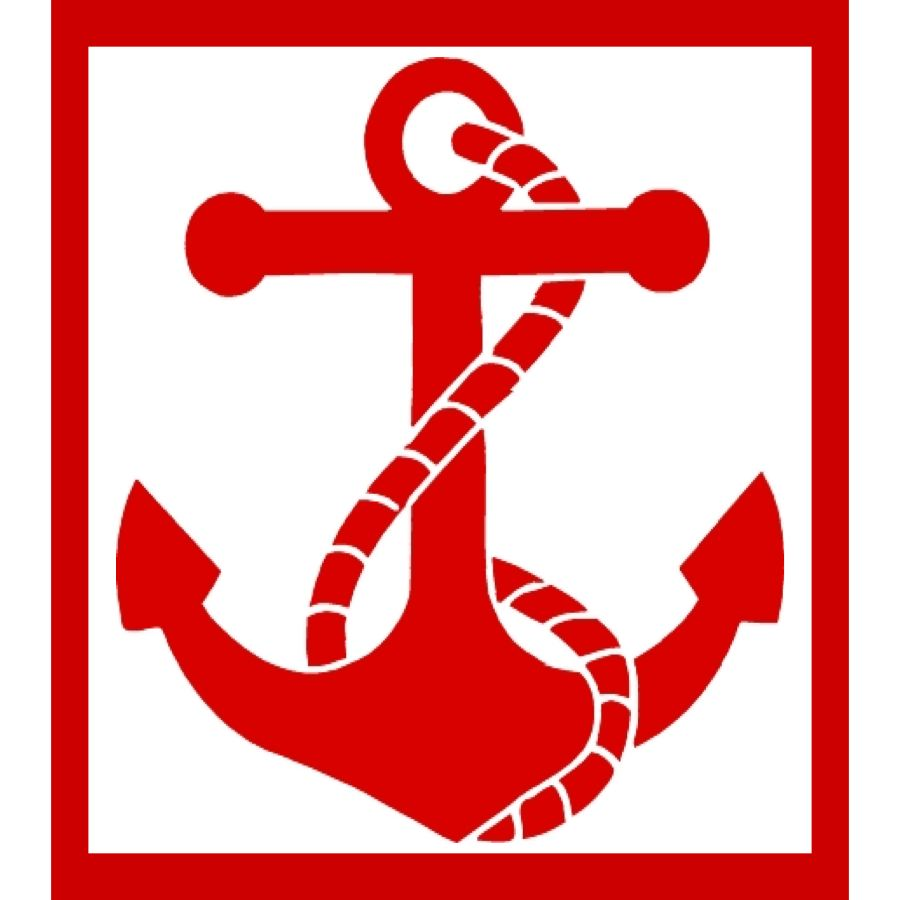 St. Brendan School Logo and Anchor and rope