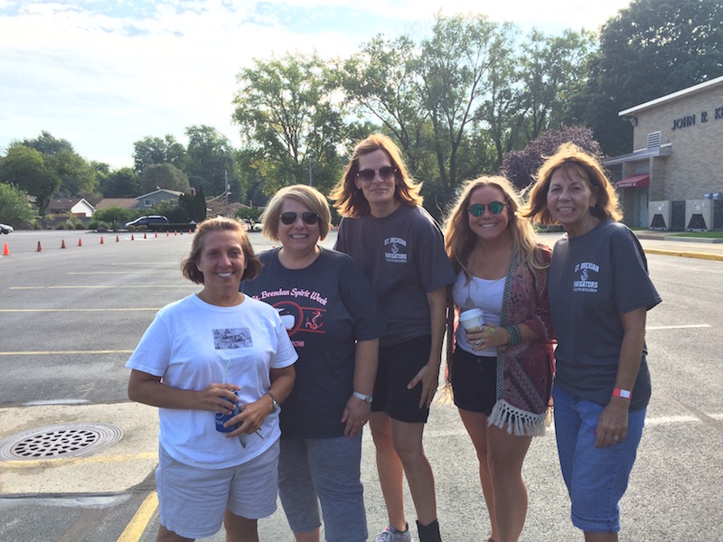 Faculty support the annual Walk-A-Thon