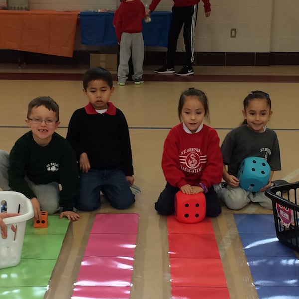 Students have fun learning at the Math Carnival