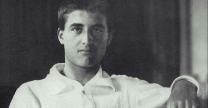 black and white photo of blessed pier giorgio