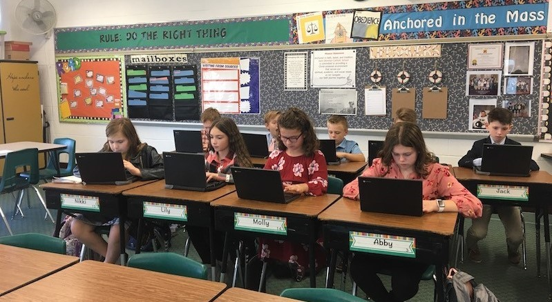 5th grade concentrating with online vocabulary