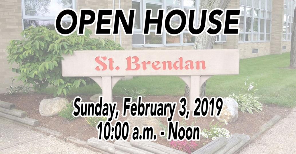 Open House Sunday February 3 10-12