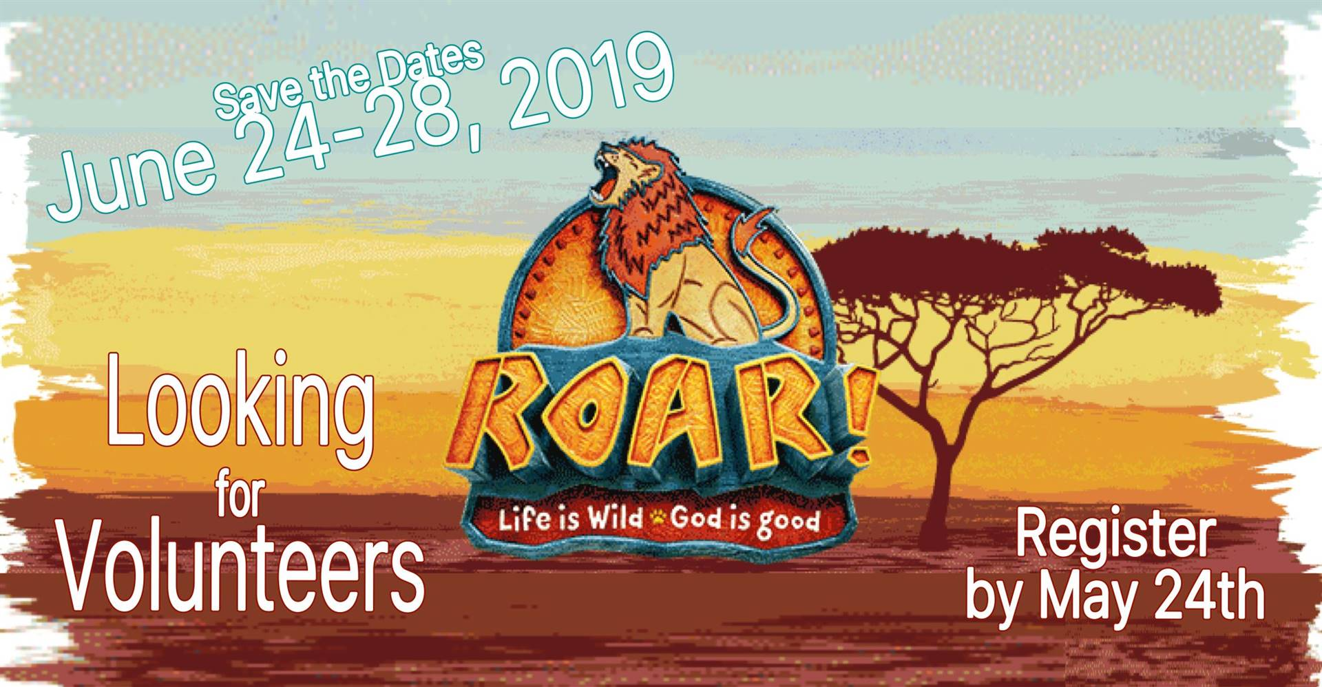 register by may 24 for vacation bible school held june 24-28