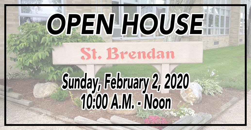 SCHOOL open house sunday february 2, 20202 10am-noon