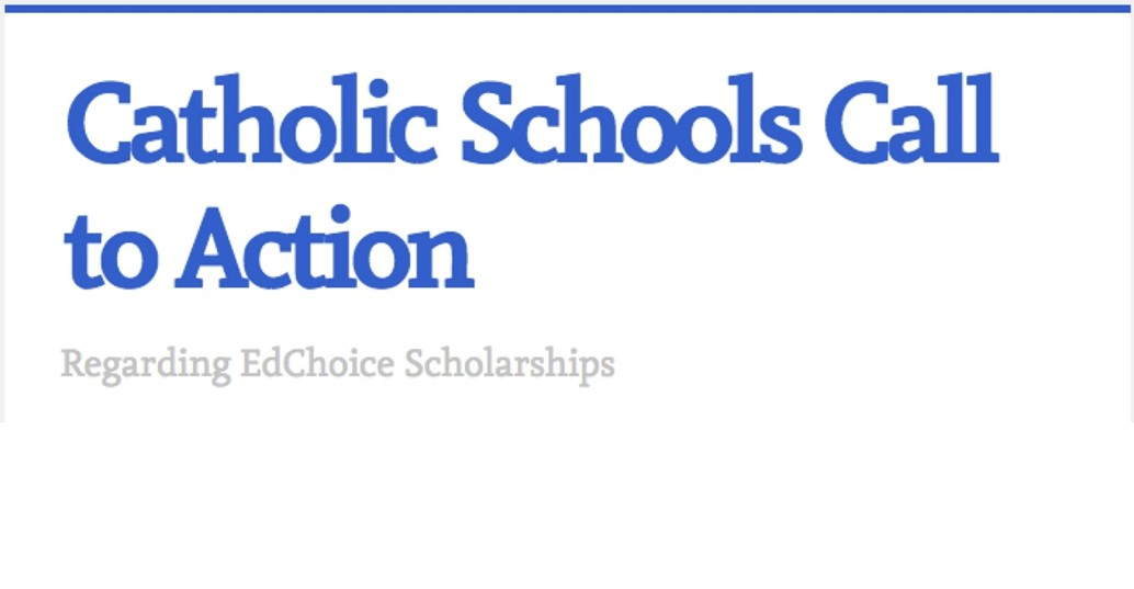 catholic schools called to action regarding ed choice