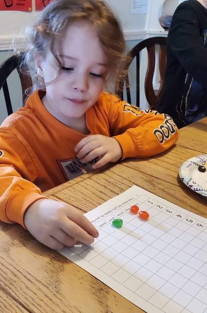girl graphing