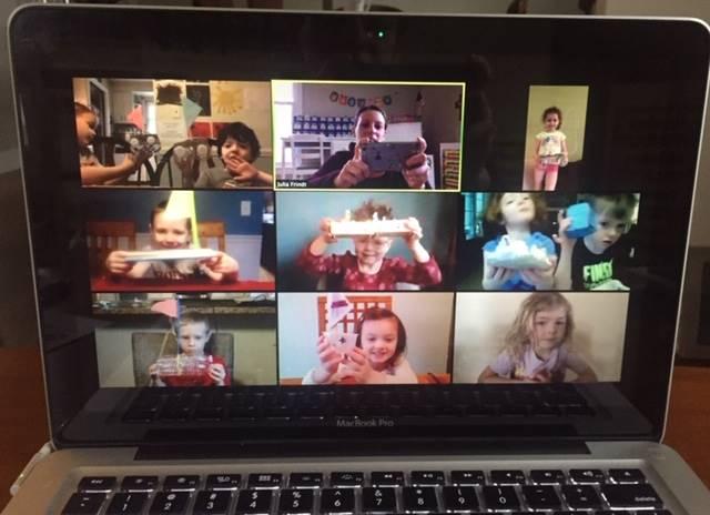 preschool zoom meeting