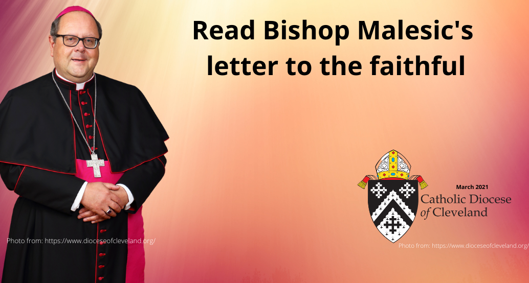read bishop malesic's letter to the faithful