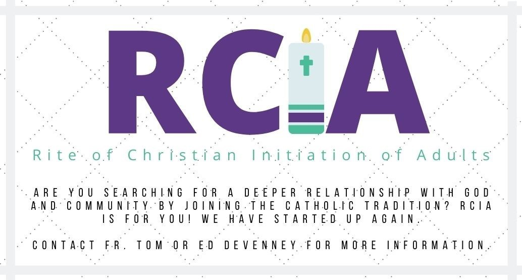 RCIA contact Ed DeVenney