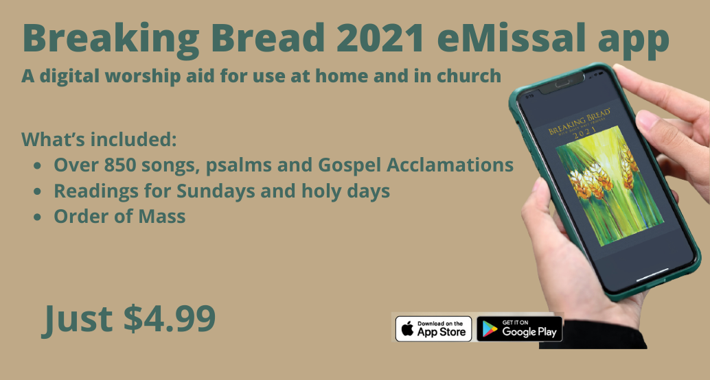 emissal App $4.99 A digital worship aid for use at home and in church Apple and Android
