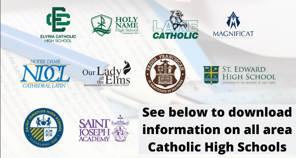 catholic high school logos
