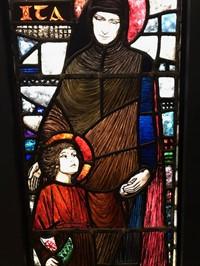 Drawing of St. Ita